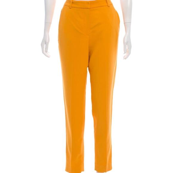 Massimo Dutti Pants - NWT. Massimo Dutti Yellow pants Sz 6